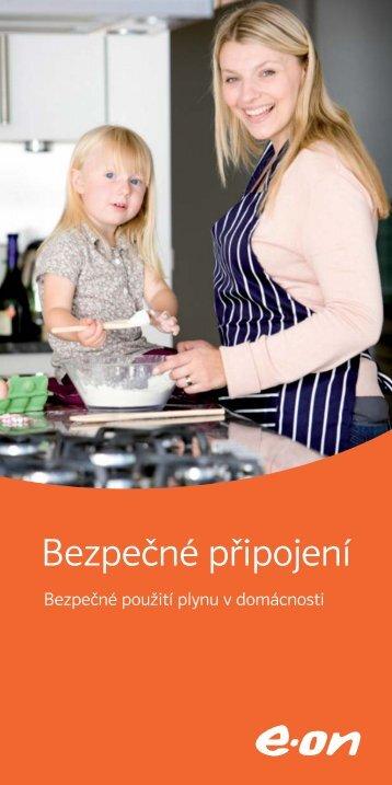 Bezpečné použití plynu v domácnosti - E.ON