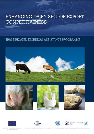 Enhancing dairy sector export competitiveness - International Trade ...