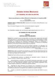 Ley General de Vida Silvestre - Estrucplan