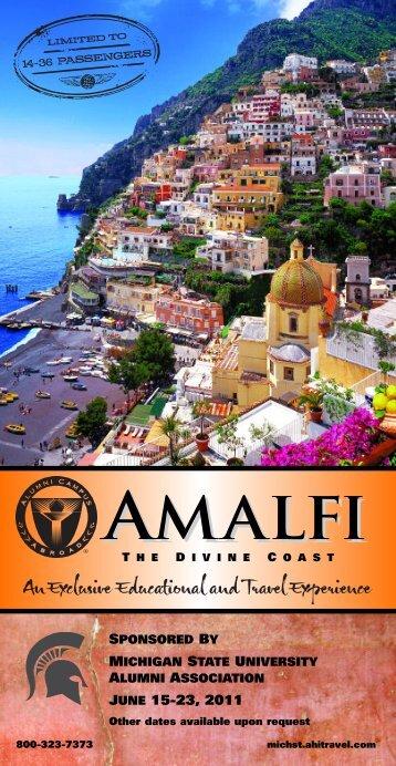 amalfi - MSU Alumni Association - Michigan State University