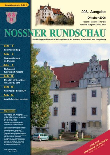 Oktober 2006 - Nossner Rundschau