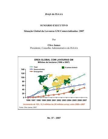 Relatório ISAAA 2007 sobre a situação global das lavouras ... - CIB