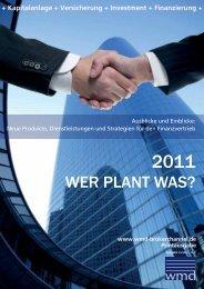 WER PLANT WAS? - WMD Brokerchannel