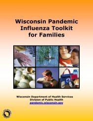 Pandemic Influenza Toolkit for Families - Unity Health Insurance