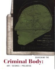 Criminal Body (pdf 9.5 MB) - Ellen Rothenberg