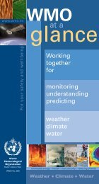 Working together for monitoring understanding ... - E-Library - WMO
