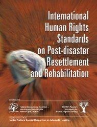 International Human Rights Standards on Post ... - hic-sarp.org