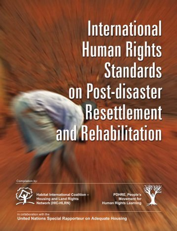 International Human Rights Standards on Post ... - hic-sarp.org