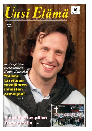 Suuri Kristus-päivä Tampereella sivut 6 - 9 - Uusi Elämä