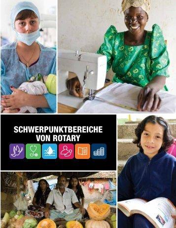 Schwerpunktbereiche von rotary - Rotary International