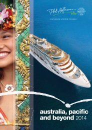 Hosted cruises - Phil Hoffmann Travel
