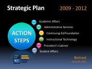 Strategic Plan (2009-2012) - Wisconsin Indianhead Technical College