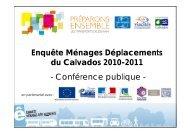 la présentation en conférence publique du 25 novembre 2011