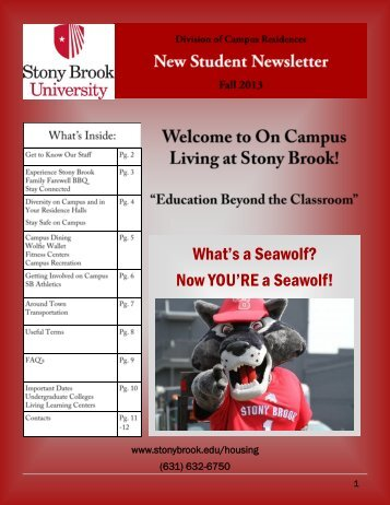 What's a Seawolf? - Student Affairs - Stony Brook University