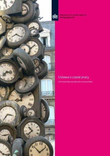Ustawa o czasie pracy - Inspectie SZW