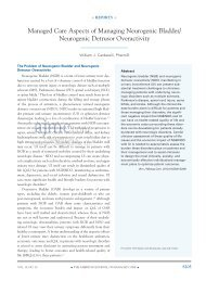 managed care Aspects of managing Neurogenic ... - Pharmacy Times