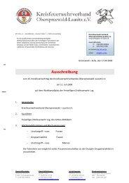 Ausschreibung - KFV-OSL