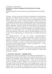 Christoph Beyer / Thomas Plättner No Germans ... - materialien-kritik