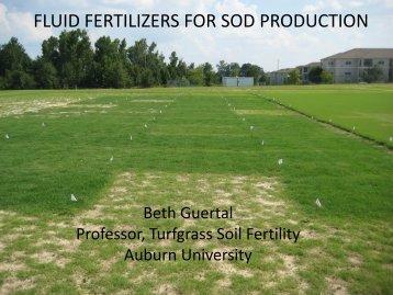 B. Guertal - Fluid Fertilizer Foundation