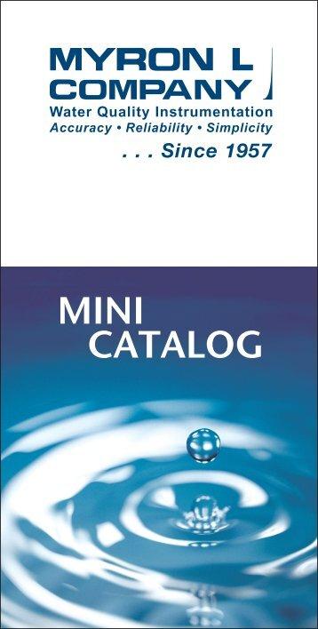 MINI CATALOG - Myron L Company
