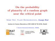 On the probability of planarity of a random graph near the critical point