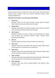 2_Sistematika DAN CONTOH FORMAT penyajian lk ... - MS Aceh