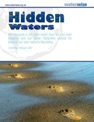 Hidden Waters - Water Footprint Network