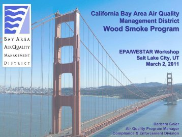 California Bay Area Air Quality Management District Wood Smoke ...