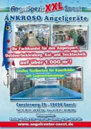 Futtermittel - AngelSpezi Soest