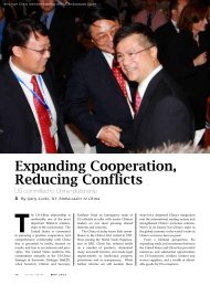 Expanding Cooperation, Reducing Conflicts - AmCham China