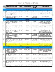 CADANGAN JADUAL PROGRAM LATIHAN ILKAP 2009