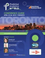 Download the Conference Guide for PAW Toronto, April 25-26, 2012