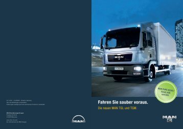 Fahren Sie sauber voraus. - MAN Truck & Bus Deutschland