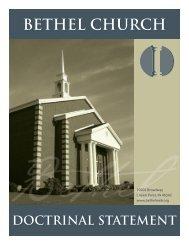 view as a PDF - Bethel Church