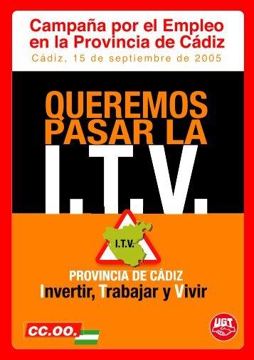 Queremos pasar la ITV - Comisiones Obreras de Andalucía