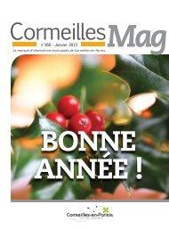 N° 166 - Janvier 2013 - Cormeilles-en-Parisis