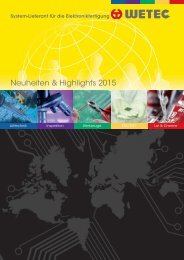 WETEC Neuheiten & Highlights 2015