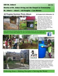 2013 STJ Go Newsletter Q2.pub - St. John's Lutheran Church