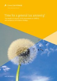 Time for a general tax amnesty? - Crowe Horwath International