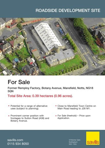 For Sale - Savills