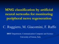 MNG classification by artificial neural networks for monitoring ...