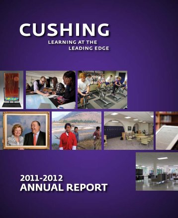 ANNUAL REPORT - Cushing Academy