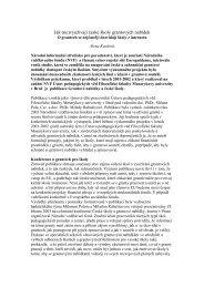 Jak využívají české školy grantových nabídek - Národní vzdělávací ...