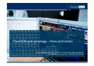 The ECB exit strategy - Danske Analyse - Danske Bank