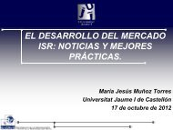 Research Work Sustainability Integration and Reporting in ... - Spainsif