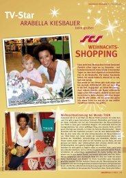 WEIHNACHTS- TV-Star - Shopping-Intern