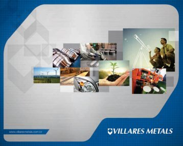 Catalogo Institucional Abril 09 :Layout 1 - Villares Metals