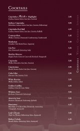 Cocktail-Night - Ricks Cafe Americain