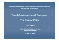 Asia India e China - Global Agenda of Action for Sustainable ...