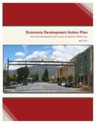 Economic Development Action Plan - City of Monrovia